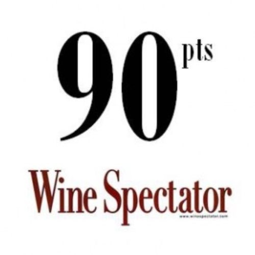 90 points Wine Spectator - La Meirana 2015